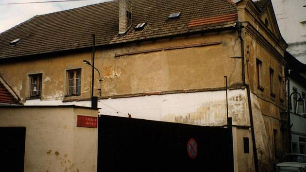 Dům č.p. 308 před rekonstrukcí.