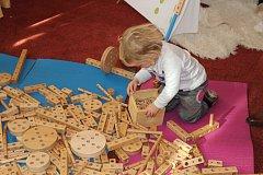 V neděli se v Táboře ve Střelnici konal Festival stylových hraček.
