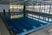 Opravený plavecký stadion v Táboře se otevře 1. února.