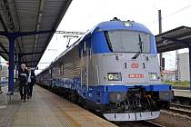 Nové lokomotivy zvládnou rychlost až 160 kilometrů v hodině.
