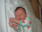 Anna Vlášková z Tábora.  Prvorozená dcera rodičů Petry a Michala poprvé na svět pohlédla 7. října ve 20.31 hodin . Po porodu vážila 3630 gramů a měřila 51 cm.