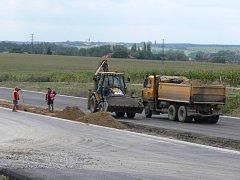 Výstavba dálnice D3.