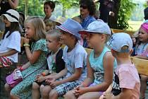V Bechyni se konal další ročník Divadla v trávě.