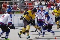 Táborští hokejbalisté o víkendu rozehrají čtvrtfinálovou sérii v ligových soutěžích na jihu Čech.