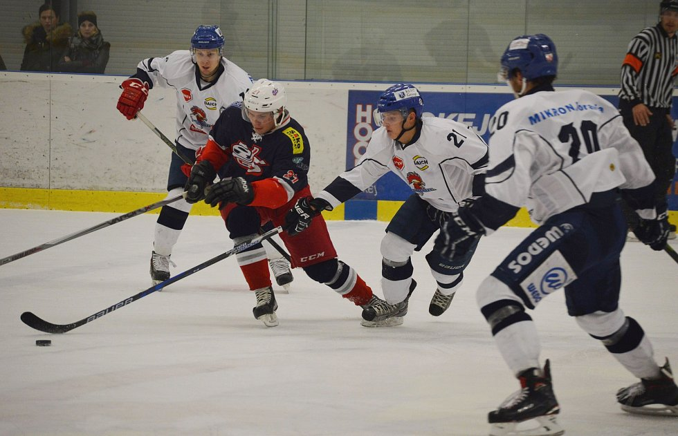 Z podzimního utkání David Servis vs. HC Tábor.