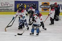 Z táborské akce Týden hokeje aneb Pojď hrát hokej.