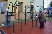 V Soběslavi vyrostlo nové hřiště pro seniory