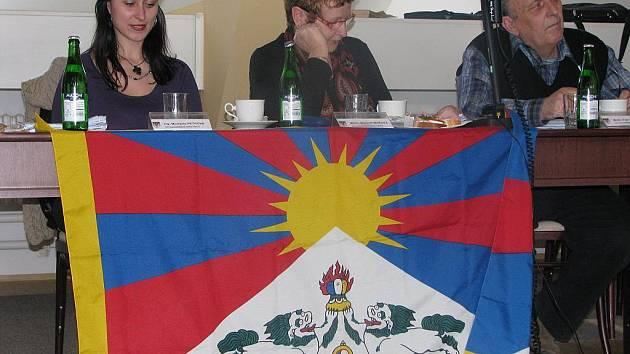 Tibetská vlajka