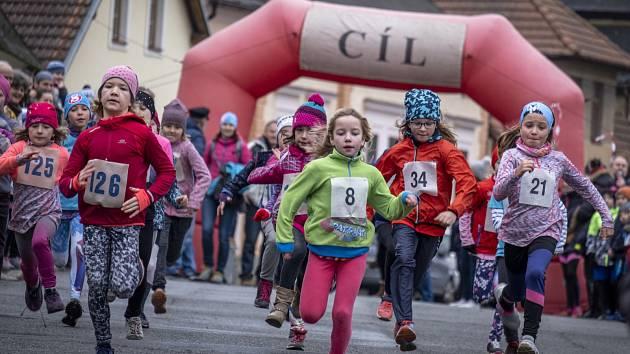 V sobotu 11. ledna se konal v pořadí 20. ročník krosového běhu ulicemi města Chýnova.