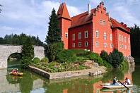 Červená Lhota patří k nejromantičtějším místům jižních Čech.