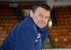Trenér týmu HC Tábor Tomáš Matušík.