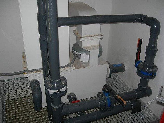 Technologické zařízení na odradonování vody mají už od roku 2008 také v Nadějkově