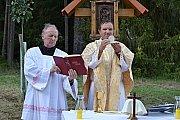 V Šebířově v sobotu vysvětili obraz svatého Huberta.
