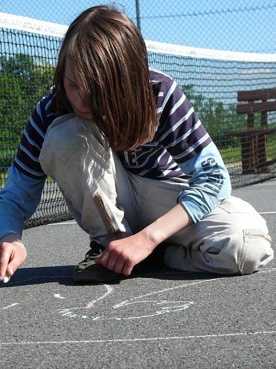Dětský šmoulí den v Libějících.