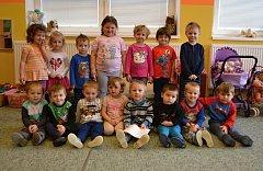 Broučci. Děti ze třídy Lady Suché, Jany Pilařové a Evy Strouhalové.Příště představíme děti z MŠ Hlavatce.