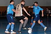 Futsalové boje na Táborsku.
