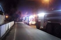 Požár v Malšicích v neděli 20. prosince vznikl v pergole a rozšířil se na podkroví rodinného domu.