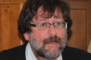 Sexuolog Petr Weiss se jednání u krajského soudu v Táboře osobně účastnil.