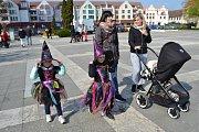 Čarodějnice si daly sraz v Soběslavi.