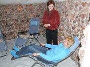 Ilustrační foto. Odpočinek v solné jeskyni.