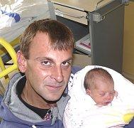 SOFIE ŠŤÁSTKOVÁ Z VESELÍ NAD LUŽNICÍ.  Narodila se  26. srpna ve 23.17 hodin jako první dítě v rodině. Vážila 2550 g, měřila 47 cm.