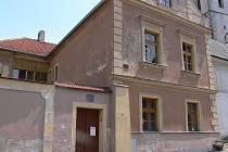 Dům čp. 300 v ulici U Děkanství.
