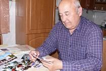 Stanislav Fíla je předsedou padařovského osadního výboru. Za dobu, kterou v této funkci je, už naschromářdil fotografie z nejrůznějších akcí, které se v Padařově udály.
