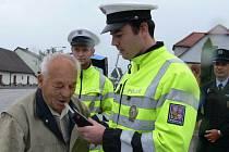 Policie měla plné ruce práce.