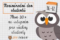 Mezinárodní den studentů v zoo.
