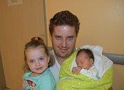 Filip Sekal z Tábora. Na svět přišel  23. září ve 13.10 hodin. Vážil 2900 gramů, měřil 47 cm a je druhým dítětem v rodině. Doma už má tříletou sestřičku Natálku.
