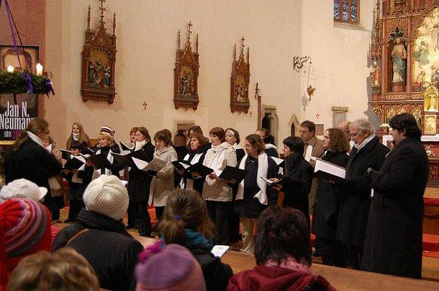 Adventní koncert v Táboře.