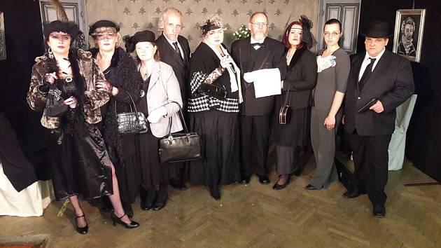 Mladovožický divadelní soubor Voživot uspěl na třešťské přehlídce se svým představením Krysí dům.
