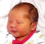 AMÉLIE ŠÍMOVÁ Z TÁBORA. Přišla na svět 6. září v 6.19 hodin. Její váha byla 2890 g, měřila 48 cm a už má pětiletou sestřičku Lauru.
