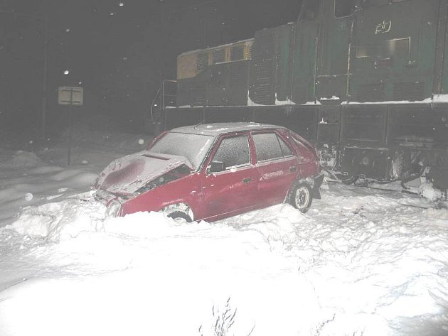 Lednová nehoda v roce 2010.