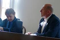 Martin Hart s obhájcem Janem Procházkou.