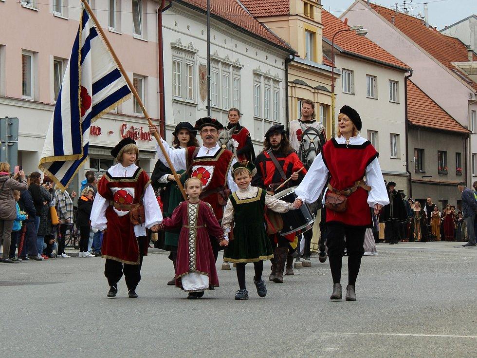 Rožmberské slavnosti v Soběslavi.