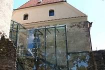 Nově zrekonstruovaná budova soběslavského hradu slouží také jako knihovna.