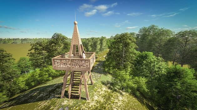 Kopcovitý park Zelené vrchy nabídne hřiště, lávku, skluzavky, venkovní posilovnu, amfiteátr pro setkávání i rozhlednu.