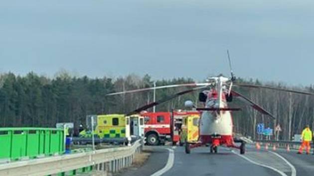 Dopravní nehoda u Veselí si vyžádala jednu zraněnou.