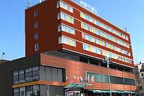 Na snímku vidíte, jakou má majitel představu o budoucí podobě hotelu Palcát. Jak ale upozornil, tyto návrhy ještě nejsou konečné. Do hlasování se proto mohou dostat s nějakými úpravami. Hlasování poběží na Facebooku a webu hotelu.