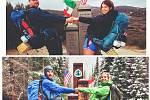 Loni přešla Tereza Kopecká se svým manželem Pacifickou hřebenovku, letos o této nelehké cestě vydala knihu. (Foto: archiv manželů Kopeckých)