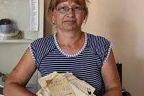 Hana Svitáková našla korespondenci z roku 1896.