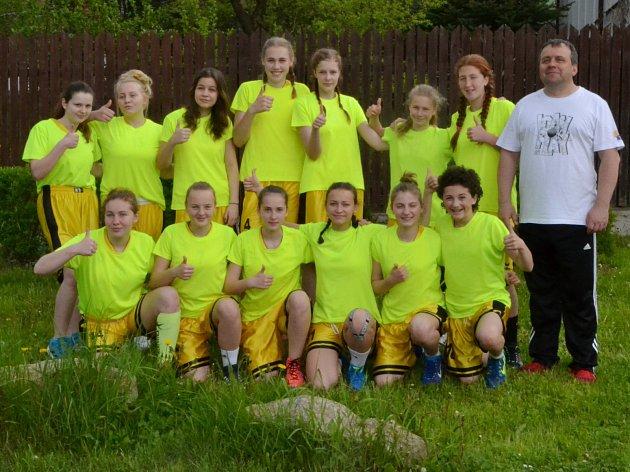 Borotínské Tygřice vyhrály domácí turnaj.
