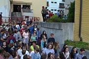 Taktické cvičení složek IZS v Divadle Oskara Nedbala v Táboře. Účastnilo se jej téměř 700 lidí.