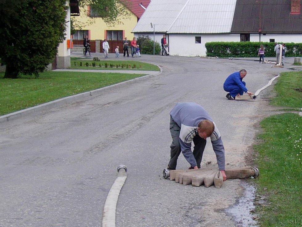 Skaličtí se zúčastnili v letošním roce metodického cvičení v obci Skrýchov.