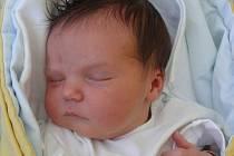MICHAELA VACZULKOVÁ Z JISTEBNICE. Sestřička tříleté Danielky přišla na svět  4. srpna v 8.53 hodin.  Po narození vážila 4070 g a měřila 53 cm.