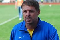 Radim Nečas. Nový trenér FC Mas Táborsko.