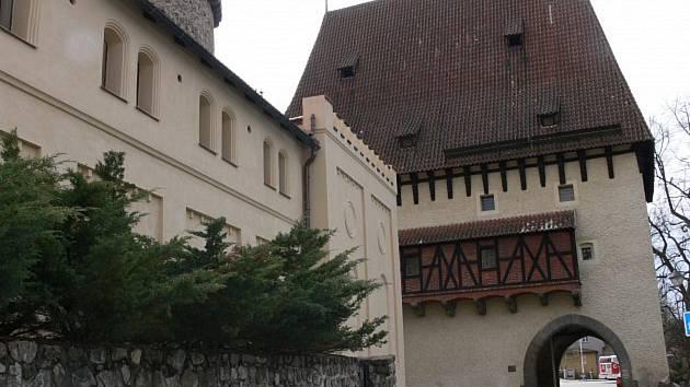 Bechyňská brána v Táboře.
