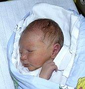 DAVID VITMAN Z JISTEBNICE. Prvního  syna se rodiče Michaela a Tonda dočkali 1. prosince v 7.56 hodin. Vážil 3170 g, měřil 49 cm.