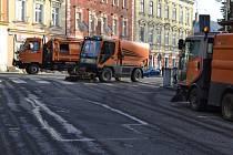 V Táboře běží jarní úklid ulic.
